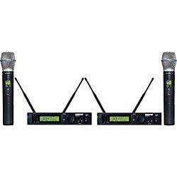 Shure ULXP24D/BETA87C Dual Handheld Wireless Microphone System (ULXP24D/BETA87C-M1)