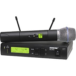 Shure ULXS Series/Beta 87A J1 Wireless Microphone System (ULXS24/BETA87A J1 USED)