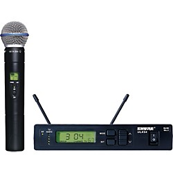 Shure ULXS24/BETA58 Handheld Wireless Microphone System (ULXS24/BETA58-J1)