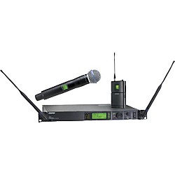 Shure UR124S/BETA58 Combo Wireless Instrument/Microphone System (UR124S/BETA58-L3)