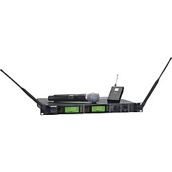 Shure UR124S/BETA87A Combo Wireless Instrument/Microphone System (UR124S/BETA87A-L3)