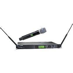Shure UR24S/BETA87A Handheld Wireless Microphone System (UR24S/BETA87A-L3)