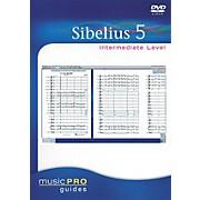 Hal Leonard Sibelius 5 Intermediate - Music Pro Series (DVD)