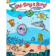 Hal Leonard Sight-Sing a Song! (Set 1) Music Reading for the Elementary Classroom Book/CD