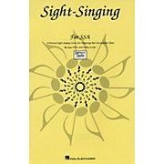 Hal Leonard Sight Singing For SSA Singer Edition Practical Course For Beg & Intermediate Choirs