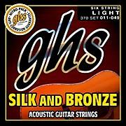 GHS Silk and Bronze Acoustic Guitar Strings Regular