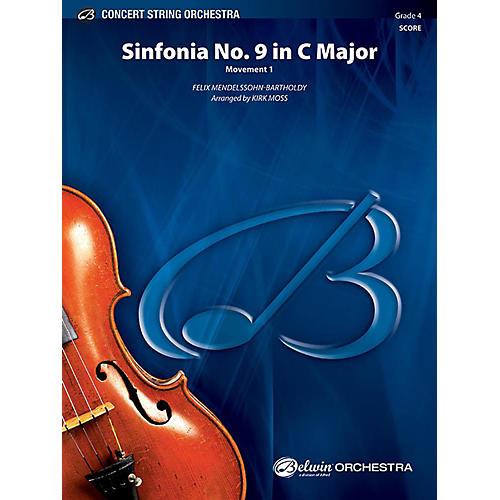 Alfred Sinfonia No. 9 in C Major String Orchestra Grade 4 Set-thumbnail