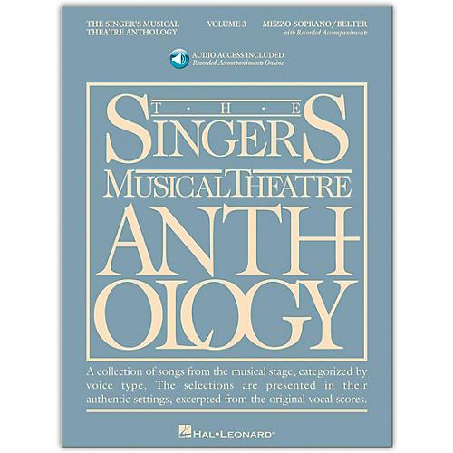 Hal Leonard Singer's Musical Theatre Anthology Mezzo-Soprano / Belter Volume 3 Book/2CD's