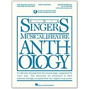 Hal Leonard Singer's Musical Theatre Anthology Teen's Edition Mezzo-Soprano/Alto/Belter Book/2CD
