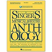Hal Leonard Singer's Musical Theatre Anthology for Baritone / Bass Volume 2 Book/2CD's