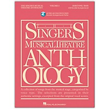 Hal Leonard Singer's Musical Theatre Anthology for Baritone / Bass Volume 3 Book/2 Online Media