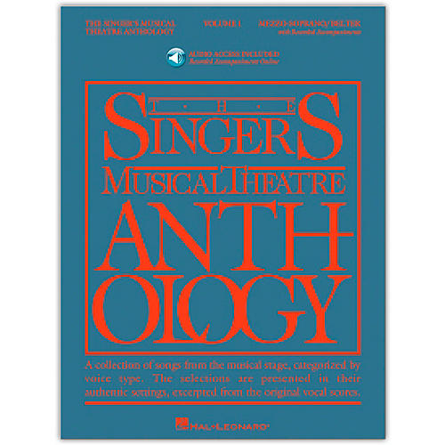 Hal Leonard Singer's Musical Theatre Anthology for Mezzo-Soprano / Belter Volume 1 Book/2CD's