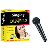 Emedia Singing for Dummies CD-ROM and Digital Reference Vocal Mic