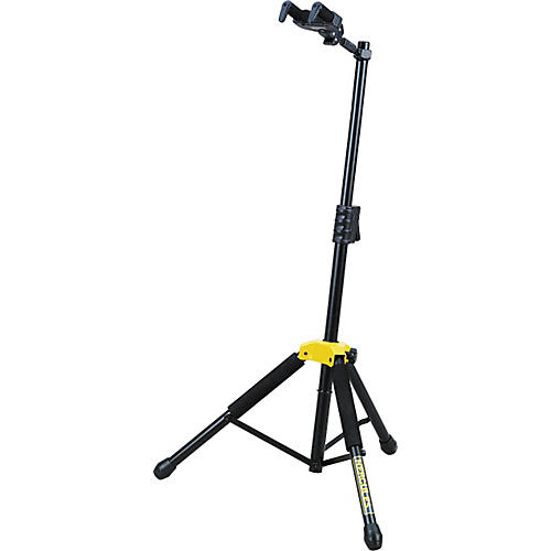 Hercules Stands Single Guitar Stand with Folding Yoke-thumbnail