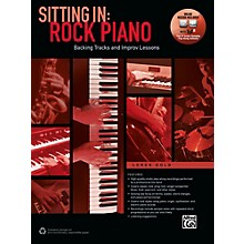 Alfred Sitting In: Rock Piano Book & Online Audio & Software Songbook