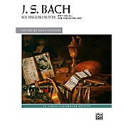 Alfred Six English Suites, BWV 806--811 - Book Advanced