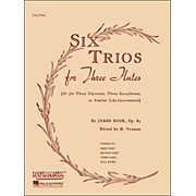 Hal Leonard Six Trios for Three Flutes First Part
