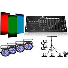 CHAUVET DJ SlimPAR 56 DMX4MF 4 Light System