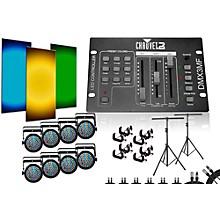 CHAUVET DJ SlimPar 38 DMX3MF 8 Light System