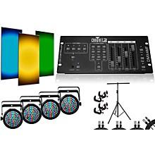 CHAUVET DJ SlimPar 38 DMX4MF 4 Light System