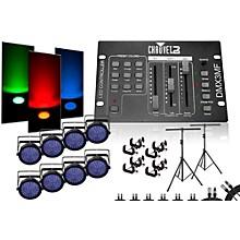 CHAUVET DJ SlimPar 64 DMX3MF 8 Light System