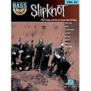Hal Leonard Slipknot - Bass Play-Along Volume 45 Book/CD