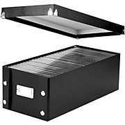 Vaultz Snap-N-Store DVD Storage Box - 2 pack