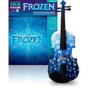 Rozanna's Violins Snowflake 1/2 Violin Outfit with Disney Frozen Songbook