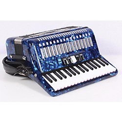 SofiaMari 34 Key 72 Bass Button Piano Accordion (USED005041 SM3472-Dark Bl)