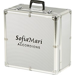 SofiaMari DAC-3412 Deluxe Metal Accordion Case (DAC-3412)