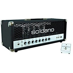 Soldano SLO100 100W Tube Guitar Head with Depth (SLO100/Loop/Slave/Depth)