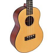 Lanikai Solid Spruce Top TunaUke Equipped Concert Ukulele