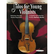 Alfred Solos for Young Violinists Violin Part and Accompaniment Vol. 4 (Book)