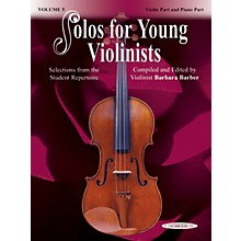 Alfred Solos for Young Violinists Violin Part and Accompaniment Vol. 5 (Book)