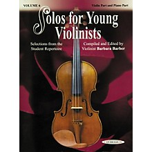 Alfred Solos for Young Violinists Violin Part and Accompaniment Vol. 6 (Book)