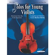Alfred Solos for Young Violists Vol. 1 (Book)