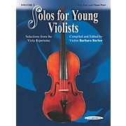 Alfred Solos for Young Violists Vol. 2 (Book)