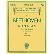 G. Schirmer Sonatas for Piano Book 1 By Beethoven