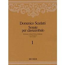 Ricordi Sonate per Clavicembalo Volume 3 Critical Edition Piano Collection by Scarlatti Edited by Emilia Fadini