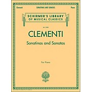 G. Schirmer Sonatinas And Sonatas for Piano By Clementi