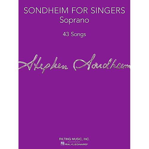 Hal Leonard Sondheim For Singers - Soprano-thumbnail