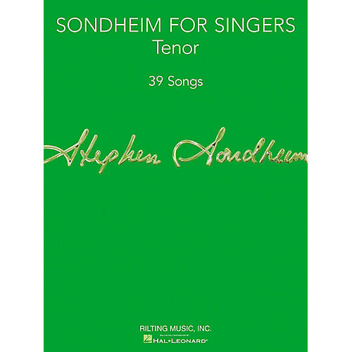 Hal Leonard Sondheim For Singers - Tenor-thumbnail