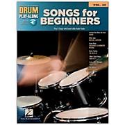 Hal Leonard Songs For Beginners - Drum Play-Along Volume 32 Book/CD