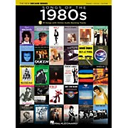 Hal Leonard Songs Of The 1980's - The New Decade Series with Optional Online Play-Along Backing Tracks