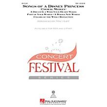 Hal Leonard Songs of a Disney Princess (Choral Medley) SSA arranged by Mac Huff