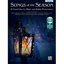 Alfred Songs of the Season Medium High Book & Acc. CD