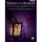 Alfred Songs of the Season Medium Low Acc. CD
