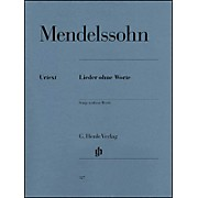 G. Henle Verlag Songs without Words By Mendelssohn