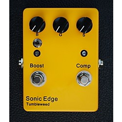 Sonic Edge Tumbleweed Clean Boost/Compression Guitar Effects Pedal (SETW)