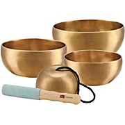 Meinl Sonic Energy 4-piece Universal Singing Bowl Set with Resonant Mallet